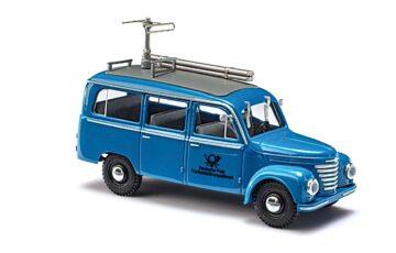 BUSCH 51259 <br/>Framo V901/2 Bus, Blaue Post 1