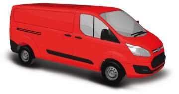 BUSCH 52400 <br/>Ford Transit rot 1