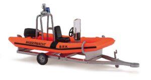 BUSCH 59957 <br/>Anhänger mit Motorboot