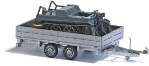 BUSCH 59959 <br/>Tranport-Anhänger Kettenkrad