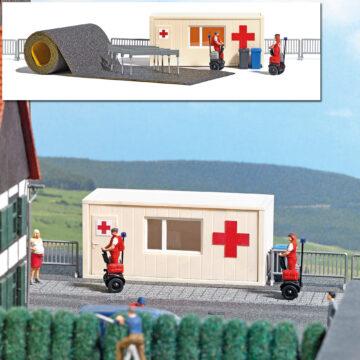 BUSCH 7869 <br/>A-Set: Sanitätsstation H0 1