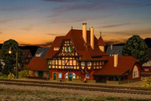 Vollmer 49510 <br/>Bahnhof Neuffen