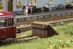 Auhagen 41665 <br/>Prellbock Holz