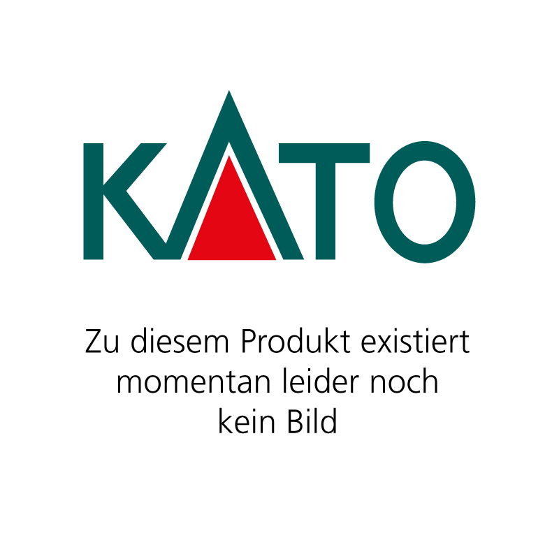 KATO 7077312 <br/>Brückenset (R481-60°) rot, mi