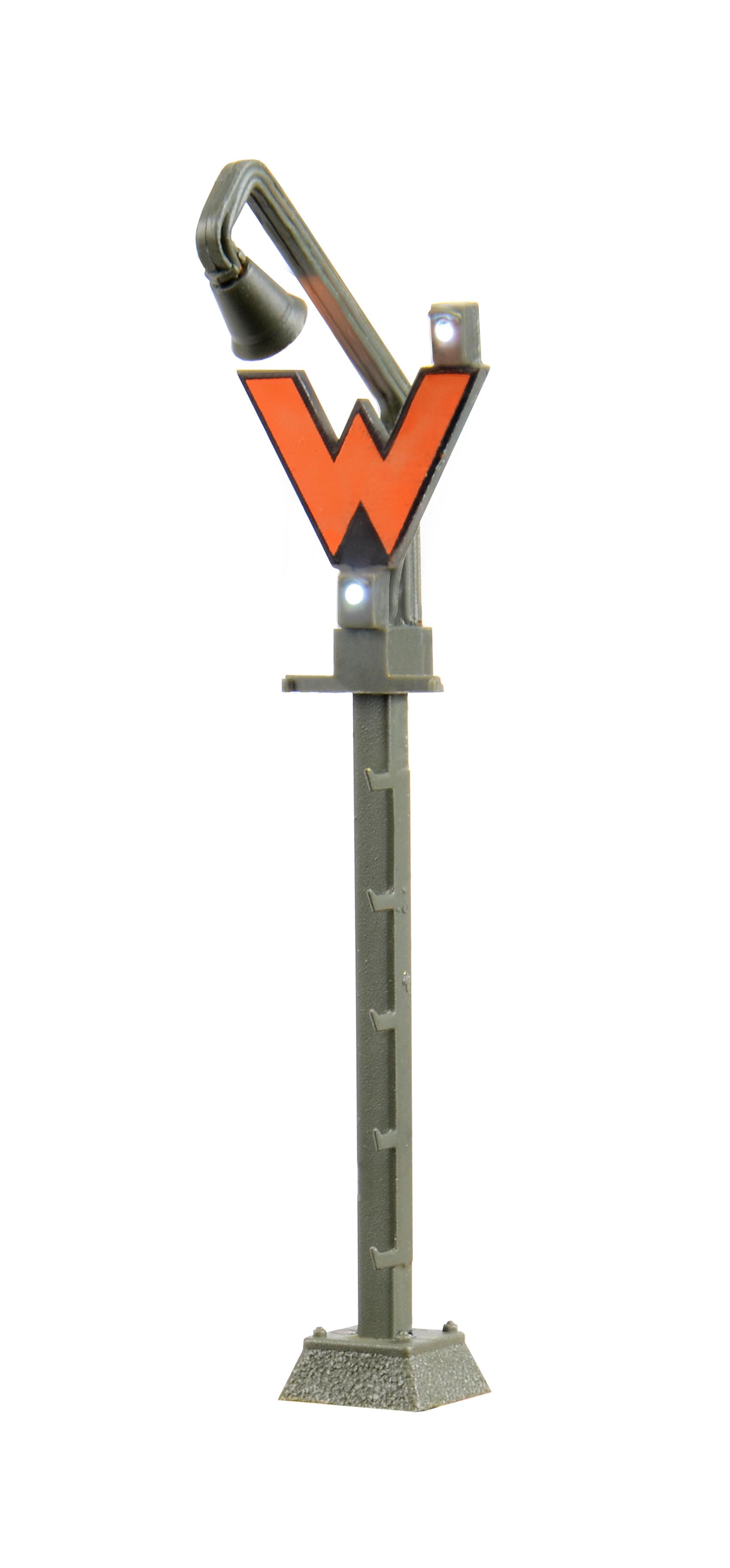 Viessmann 4919 <br/>Wartesignal mit Anstrahlleuchte