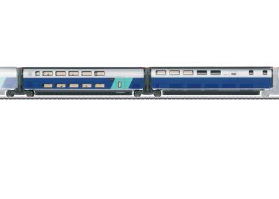 Märklin 43443 <br/>Ergänzungswagen-Set 3 zum TGV Euroduplex