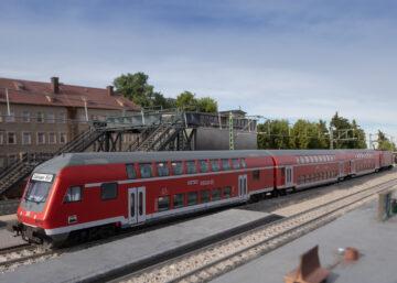 Märklin 43569 <br/>Doppelstock-Steuerwagen 2