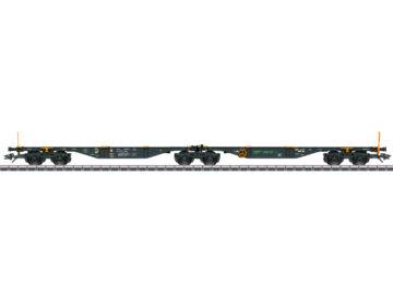 Märklin 47813 <br/>Doppel-Containertragwagen Bauart Sggrss 1