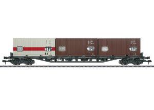 Märklin 58710 <br/>Mehrzweck-Container-Tragwagen Sgjs 716