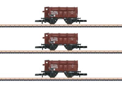 Märklin 86010 <br/>Klappdeckelwagen-Set