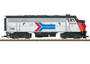 LGB 21580 <br/>Amtrak Diesellok F7 A Phase I