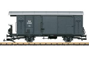 LGB 43814 <br/>Ged. Güterwagen RhB
