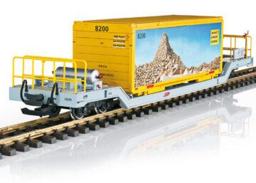 LGB 45925 <br/>Containerwagen RhB 1