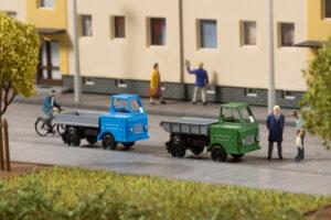 Auhagen 44656 <br/>Multicar M22 mit Anhänger