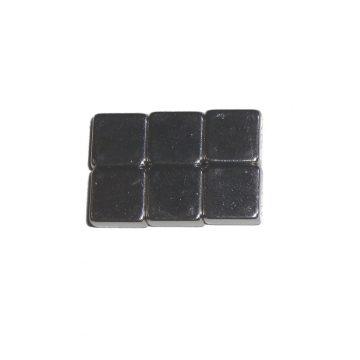 Magnet 08x08x04 6er Set <br/>TOY-TEC 87023 1
