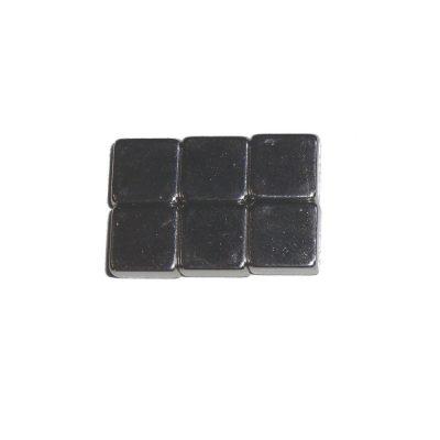 Magnet 08x08x04 6er Set <br/>TOY-TEC 87023